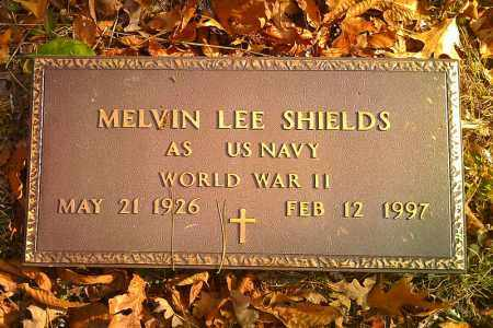 SHIELDS  (VETERAN WWII), MELVIN LEE - Pope County, Arkansas   MELVIN LEE SHIELDS  (VETERAN WWII) - Arkansas Gravestone Photos