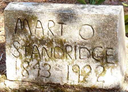 STANDRIDGE, MART O - Pope County, Arkansas   MART O STANDRIDGE - Arkansas Gravestone Photos