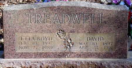 TREADWELL, DAVID - Pope County, Arkansas   DAVID TREADWELL - Arkansas Gravestone Photos