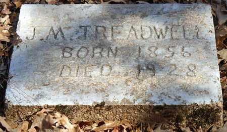 TREADWELL, J M - Pope County, Arkansas   J M TREADWELL - Arkansas Gravestone Photos