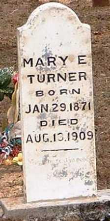 TURNER, MARY E - Pope County, Arkansas | MARY E TURNER - Arkansas Gravestone Photos