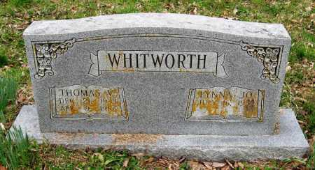 WHITWORTH, THOMAS V - Pope County, Arkansas | THOMAS V WHITWORTH - Arkansas Gravestone Photos
