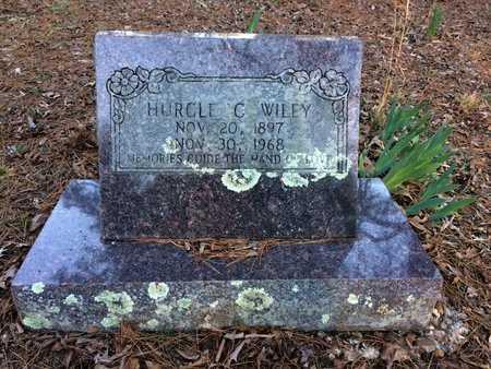WILEY, HURCLE C - Pope County, Arkansas   HURCLE C WILEY - Arkansas Gravestone Photos