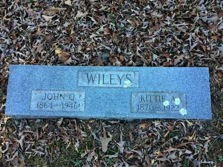 WILEYS, KITTIE A - Pope County, Arkansas | KITTIE A WILEYS - Arkansas Gravestone Photos