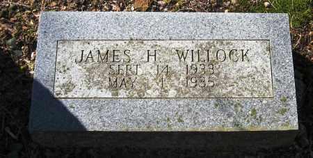 WILLOCK, JAMES H - Pope County, Arkansas | JAMES H WILLOCK - Arkansas Gravestone Photos