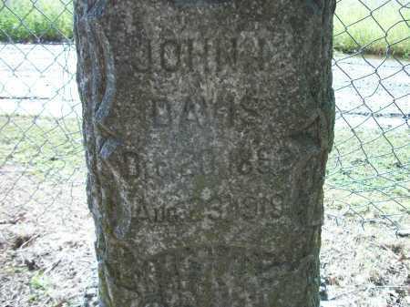 DAVIS, JOHN ISAAC - Prairie County, Arkansas | JOHN ISAAC DAVIS - Arkansas Gravestone Photos