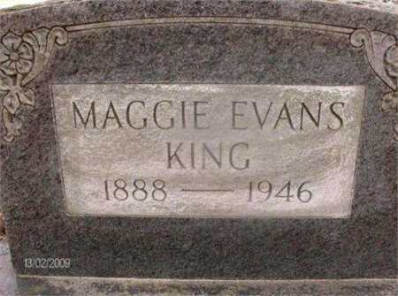 KING, MAGGIE - Prairie County, Arkansas | MAGGIE KING - Arkansas Gravestone Photos