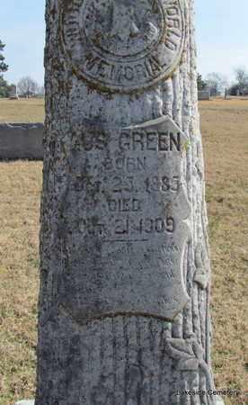 GREEN, GUS (CLOSE UP) - Prairie County, Arkansas | GUS (CLOSE UP) GREEN - Arkansas Gravestone Photos