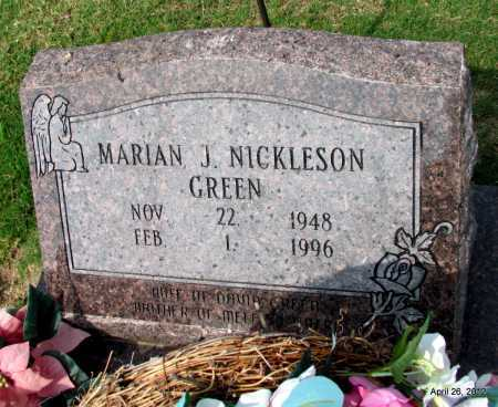 GREEN, MARIAN J - Prairie County, Arkansas   MARIAN J GREEN - Arkansas Gravestone Photos