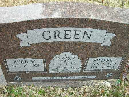 GREEN, WILLENE V - Prairie County, Arkansas | WILLENE V GREEN - Arkansas Gravestone Photos