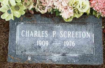 SCREETON, CHARLES P - Prairie County, Arkansas   CHARLES P SCREETON - Arkansas Gravestone Photos