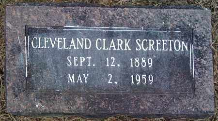 SCREETON, CLEVELAND CLARK - Prairie County, Arkansas | CLEVELAND CLARK SCREETON - Arkansas Gravestone Photos