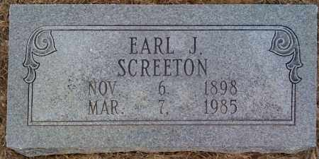 SCREETON, EARL J - Prairie County, Arkansas | EARL J SCREETON - Arkansas Gravestone Photos