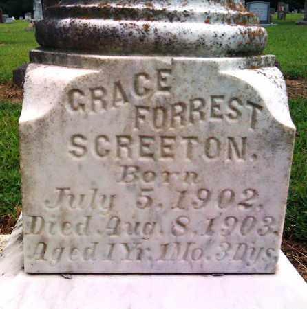 SCREETON, GRACE FORREST - Prairie County, Arkansas | GRACE FORREST SCREETON - Arkansas Gravestone Photos