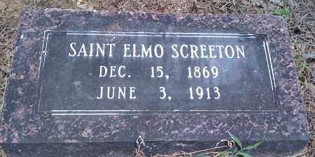 SCREETON, SAINT ELMO - Prairie County, Arkansas | SAINT ELMO SCREETON - Arkansas Gravestone Photos