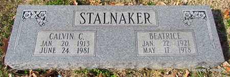 STALNAKER, CALVIN C - Prairie County, Arkansas   CALVIN C STALNAKER - Arkansas Gravestone Photos