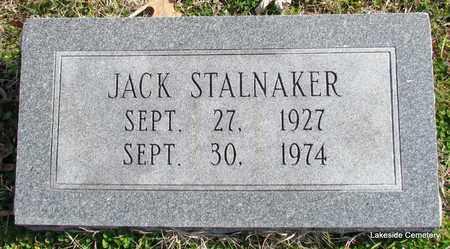 STALNAKER, JACK - Prairie County, Arkansas | JACK STALNAKER - Arkansas Gravestone Photos