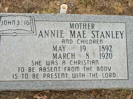 STANLEY, ANNIE MAE - Prairie County, Arkansas | ANNIE MAE STANLEY - Arkansas Gravestone Photos