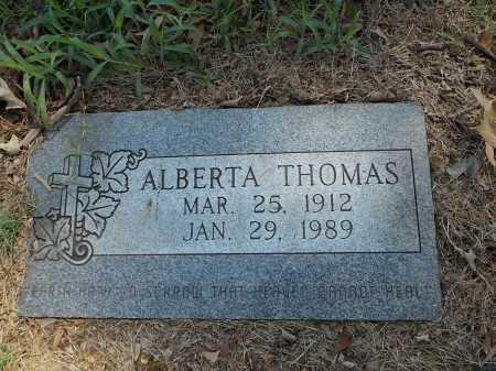 THOMAS, ALBERTA - Prairie County, Arkansas | ALBERTA THOMAS - Arkansas Gravestone Photos