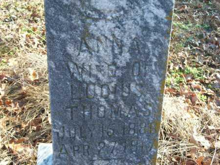 THOMAS, ANNA - Prairie County, Arkansas | ANNA THOMAS - Arkansas Gravestone Photos