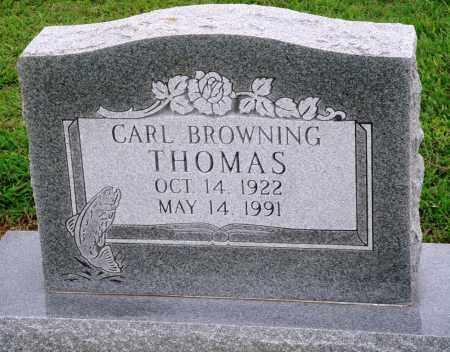 THOMAS, CARL BROWNING - Prairie County, Arkansas | CARL BROWNING THOMAS - Arkansas Gravestone Photos