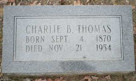 THOMAS, CHARLIE B - Prairie County, Arkansas | CHARLIE B THOMAS - Arkansas Gravestone Photos