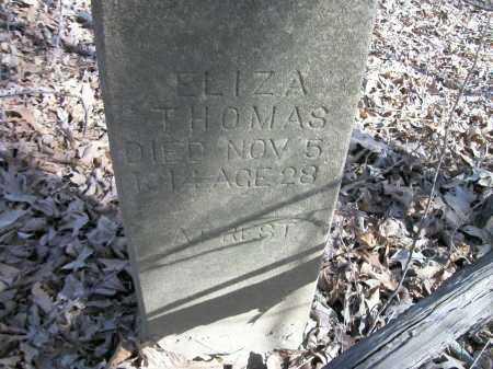 THOMAS, ELIZA - Prairie County, Arkansas | ELIZA THOMAS - Arkansas Gravestone Photos