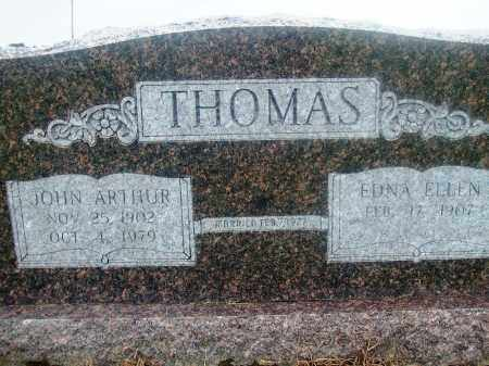 THOMAS, JOHN ARTHUR - Prairie County, Arkansas | JOHN ARTHUR THOMAS - Arkansas Gravestone Photos