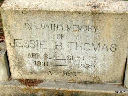 THOMAS, JESSIE B - Prairie County, Arkansas   JESSIE B THOMAS - Arkansas Gravestone Photos