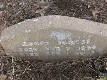 THOMAS, LARRY - Prairie County, Arkansas | LARRY THOMAS - Arkansas Gravestone Photos