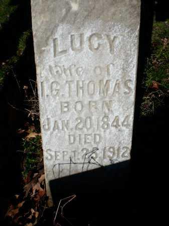 THOMAS, LUCY - Prairie County, Arkansas | LUCY THOMAS - Arkansas Gravestone Photos