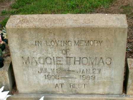THOMAS, MAGGIE - Prairie County, Arkansas | MAGGIE THOMAS - Arkansas Gravestone Photos