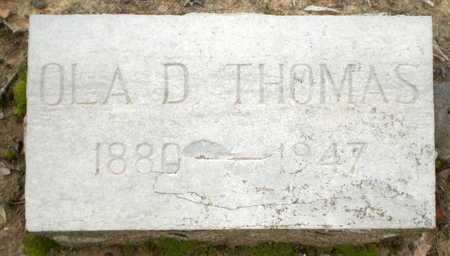 THOMAS, OLA D - Prairie County, Arkansas   OLA D THOMAS - Arkansas Gravestone Photos