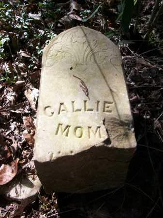 UNKNOWN, CALLIE - Prairie County, Arkansas | CALLIE UNKNOWN - Arkansas Gravestone Photos