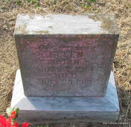 UNKNOWN, ELLEN - Prairie County, Arkansas | ELLEN UNKNOWN - Arkansas Gravestone Photos