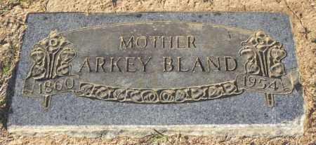 BLAND, ARKEY - Pulaski County, Arkansas | ARKEY BLAND - Arkansas Gravestone Photos