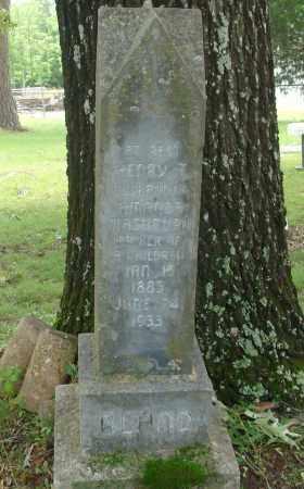 BLAND, HENRY T - Pulaski County, Arkansas   HENRY T BLAND - Arkansas Gravestone Photos