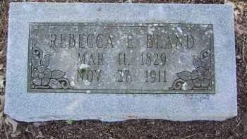 BLAND, REBECCA ELIZABETH - Pulaski County, Arkansas   REBECCA ELIZABETH BLAND - Arkansas Gravestone Photos