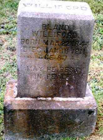 BLAND, WILLIFORD - Pulaski County, Arkansas | WILLIFORD BLAND - Arkansas Gravestone Photos