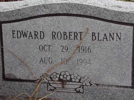 BLANN, EDWARD ROBERT - Pulaski County, Arkansas | EDWARD ROBERT BLANN - Arkansas Gravestone Photos