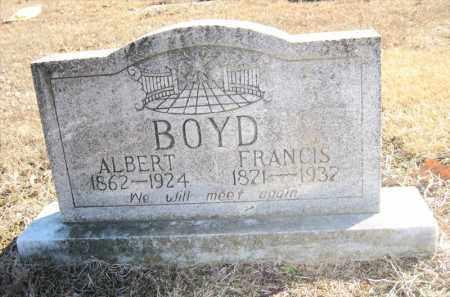 BOYD, FRANCIS - Pulaski County, Arkansas | FRANCIS BOYD - Arkansas Gravestone Photos