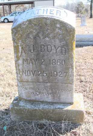 BOYD, A J - Pulaski County, Arkansas   A J BOYD - Arkansas Gravestone Photos