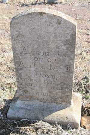 BOYD, AARON L - Pulaski County, Arkansas   AARON L BOYD - Arkansas Gravestone Photos