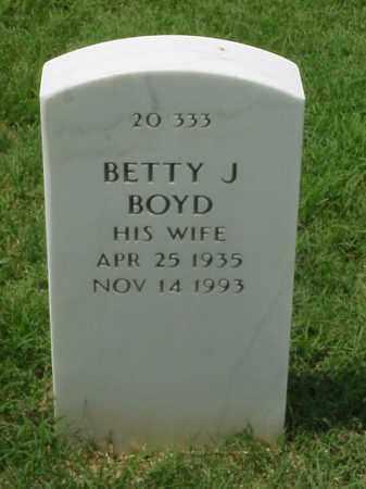 BOYD, BETT J - Pulaski County, Arkansas | BETT J BOYD - Arkansas Gravestone Photos