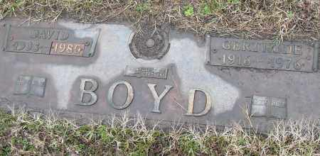 BOYD, GERTRUDE - Pulaski County, Arkansas | GERTRUDE BOYD - Arkansas Gravestone Photos