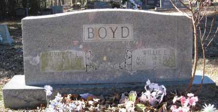 BOYD, WILLIE E - Pulaski County, Arkansas | WILLIE E BOYD - Arkansas Gravestone Photos