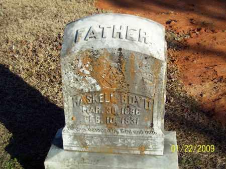 BOYD, HASKELL - Pulaski County, Arkansas | HASKELL BOYD - Arkansas Gravestone Photos