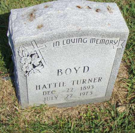 BOYD, HATTIE - Pulaski County, Arkansas | HATTIE BOYD - Arkansas Gravestone Photos