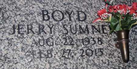 BOYD, JERRY SUMNER - Pulaski County, Arkansas | JERRY SUMNER BOYD - Arkansas Gravestone Photos