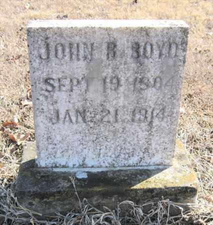 BOYD, JOHN B - Pulaski County, Arkansas   JOHN B BOYD - Arkansas Gravestone Photos
